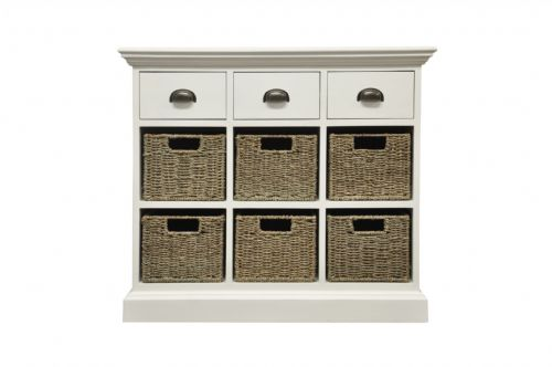 3 Drawer 6 Basket Unit